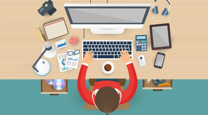 Why it's good to have a personal working space at home